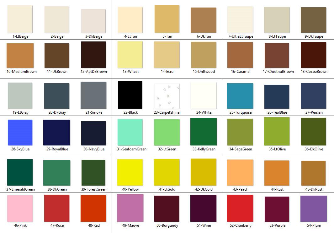 5 Dye Pen Homeowners Kit - Americolor Dyes