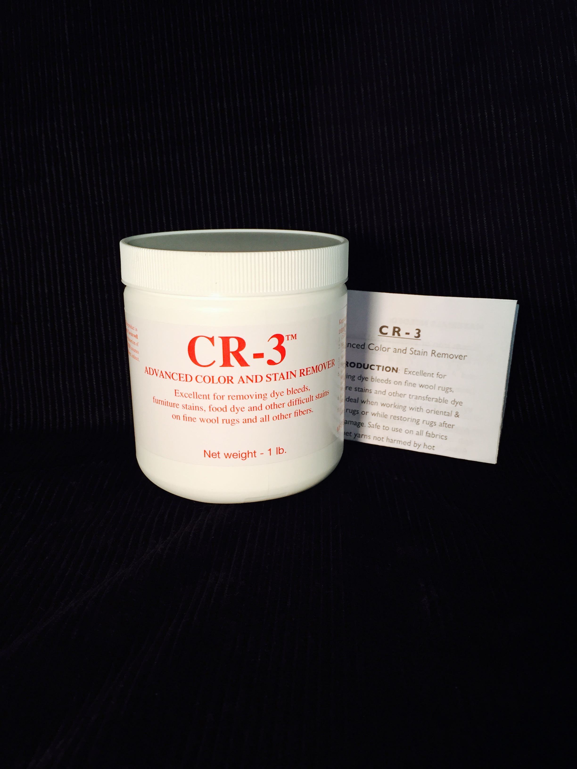 Cr 3 Advanced Color And Stain Remover Americolor Dyes