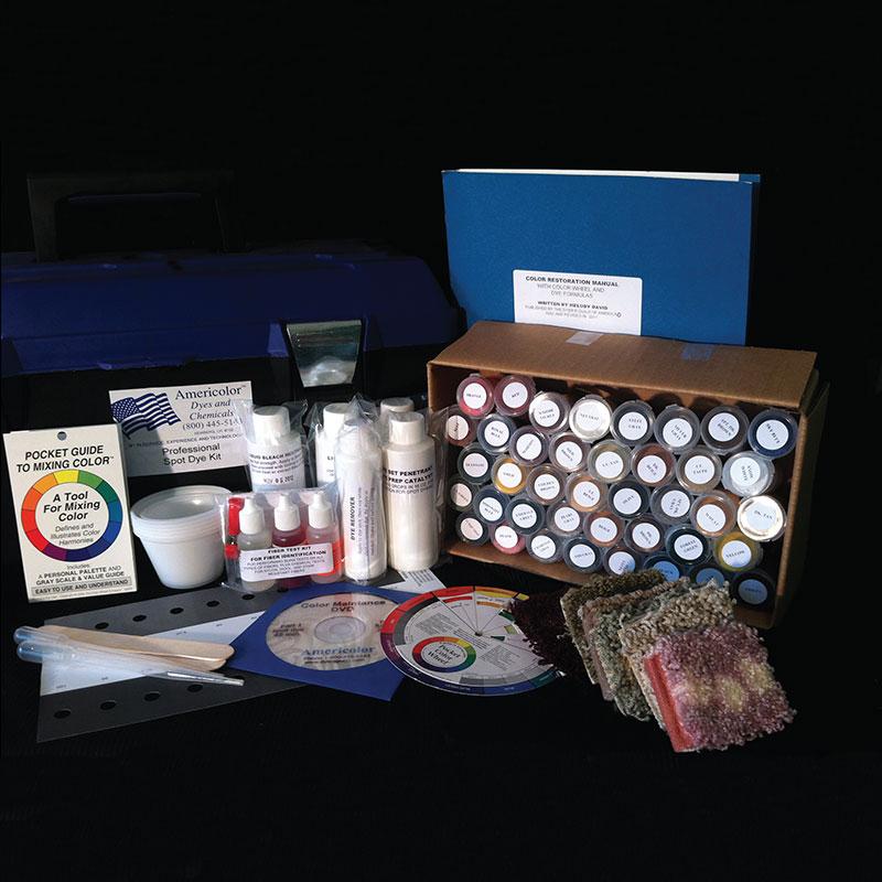 Professional Carpet Spot Dye Amp Color Restoration Kit With