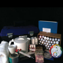 Small Full Room Dyeing Kit Americolor Dyes
